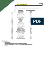 10-2 - TD - Indicateurs en Maintenance - Analyse de Pareto