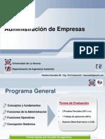 1. Programa