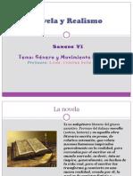 Novela y Realismo-Sem 6