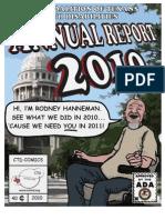 CTD Annual Report 2010