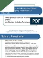 Desenvolvimento Java EE Usando JSF - Spring Framework e Hibernate