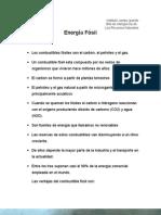energia fósil