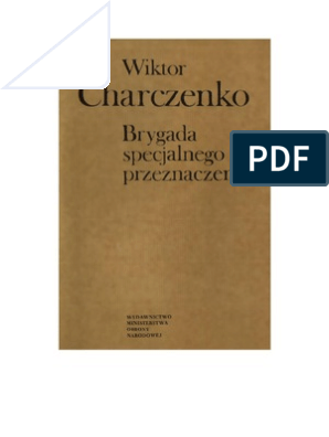 Charczenko Wiktor Brygada Specjalnego Przeznaczenia