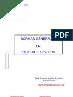 Normas Generales en Primeros Auxilios
