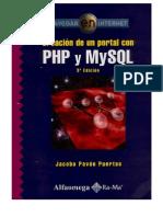 Creacion de Un Portal Web Con Php y Mysql
