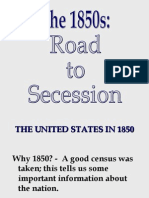 1850s-RoadtoSecession