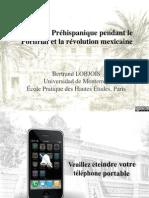 BLobjois-Passé préhispanique Porfiriat Révolution