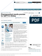 Pharmaceutical Results Preview for Q3FY12_ Emkay - Moneycontrol.com