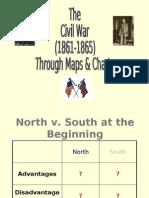 Civil War Through Maps, Charts, Etc.