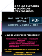 Analisis de Los Enfoques Pedagogicos