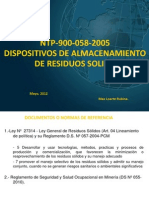 PresentaciónNTP-900-058-2005