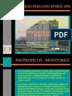 Exposición Monitoreo Inotrópicos