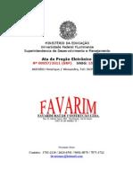 Favarim Materiais de Construcao Ltda_ata 572011 Favarim-1