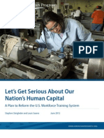 Let's Get Serious About Our Nation's Human Capital