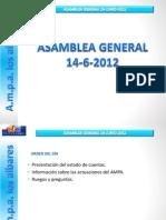 120614 Asamblea General
