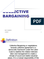 Advance Collective Bargaining