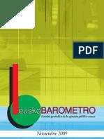 Euskadi Barometer Nov 09