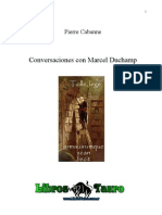 Cabanne Pierre Conversaciones Con Marcel Duchamp
