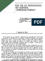 sociologia de la sexualidad en españa iglesias de Ussel