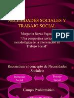Necesidades Sociales y Trabajo Social