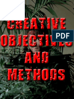 Creative Objectives and Methods Analysis