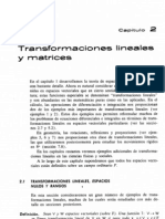 transformaciones lineales y matrices