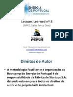 Energia de Portugal - Lessons Bootcamp nº8
