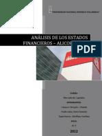 ANÁLISIS DE LOS RATIOS FINANCIEROS consolidado