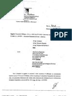 Relazione Ispettore Sajeva sulla situazione finanziaria del Comune di Milazzo