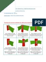 Tipologia de Uniones Soldadas de Edificacion Implementadas