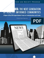 News Cities the Next Generation of Healthy Informed Communities