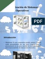 Virtualizacion de Sistemas Operativos