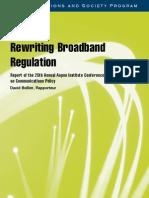 Rewriting Broadband Regulation