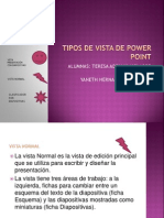 Tipos de Vista de Power Point
