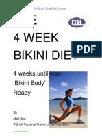 4 Wk Bikini Diet