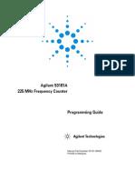 Agilent 53181A Prog Guide