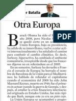 Xavier Batalla. Otra Europa