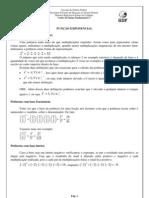 Apostila Função Exponencial e Logaritmica
