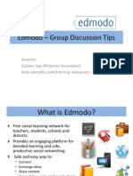 Edmodo – Group Discussion