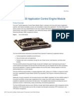 Cisco ACE30 Application Control Engine Module Data Sheet