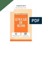 Idiomas - Lenguaje de Signos