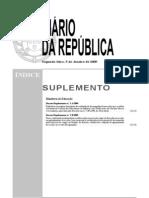 Decreto Regulamentar n.º 1-A/2009