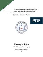 FHFA Draft Strategic Plan 2013-2017