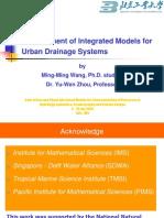 Modelos Para Sistemas de Drenaje Urbano