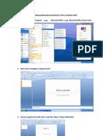 Cara Mengoperasikan Microsoft Office Power Point