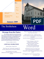 BCC Newsletter Jan 09