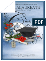 First Church of Seventh-day Adventists Baccalaureate 2010