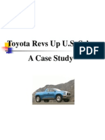 Toyota Revs Up U S Sales a Case