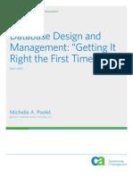 Database Design and Management Whitepaper
