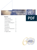 Model United Nations Handbook